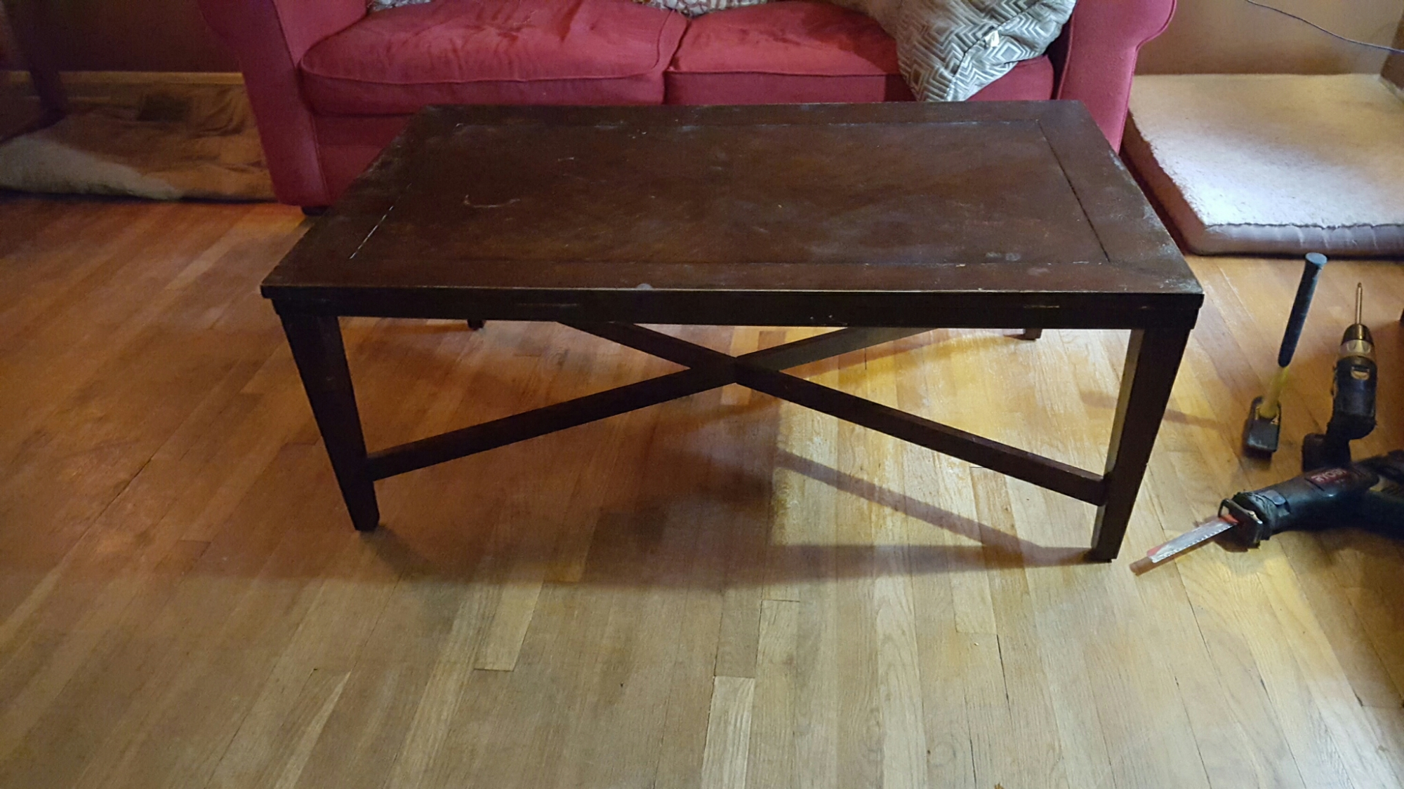 old door coffee table | one chef obsessed